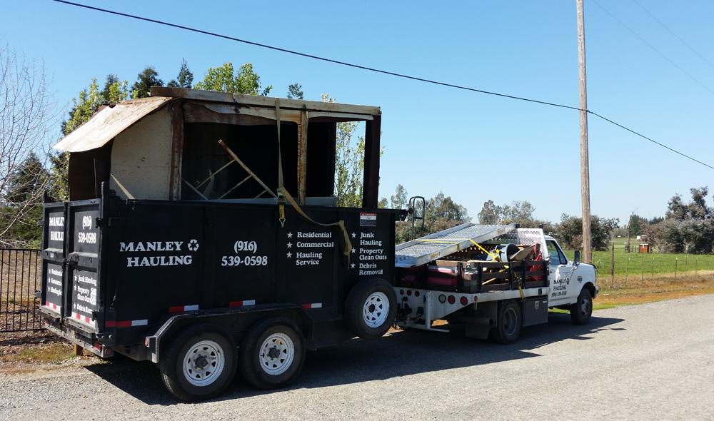 Expert Concrete Demolition & Removal Company in El Dorado County - Manley Hauling