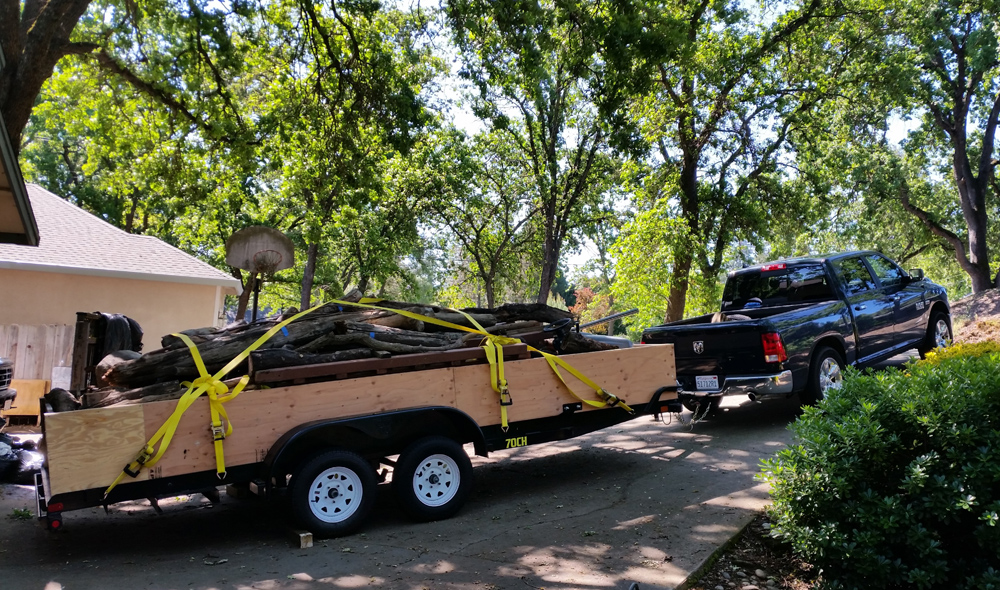 Yard Waste and Thick Brush Removal Services in El Dorado County: Cameron Park, El Dorado Hills and Placerville, CA - Manley Hauling